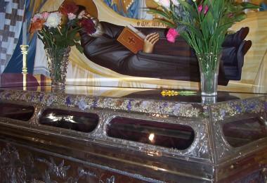 Το Λείψανο του Αγίου Αντωνίου του Βεροιέως πολιούχου Βεροίας
