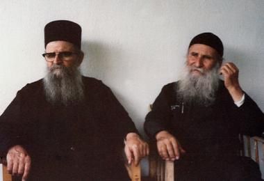 Γέρων Χαράλαμπος Διονυσιάτης - Γέρων Ιωσήφ Βατοπαιδινός