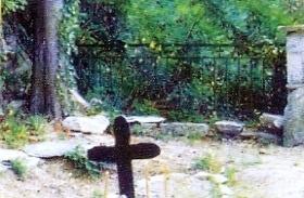 ο τάφος του Αγίου Πορφυρίου του Καυσοκαλυβίτου