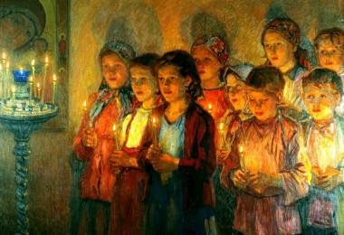 εκκλησία - παιδιά