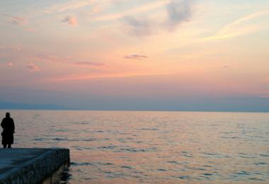 Άγιον Όρος - θάλασσα