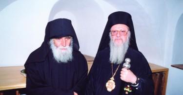 Άγιος Παΐσιος - Οικοιμενικός Πατριάρχης Βαρθολομαίος